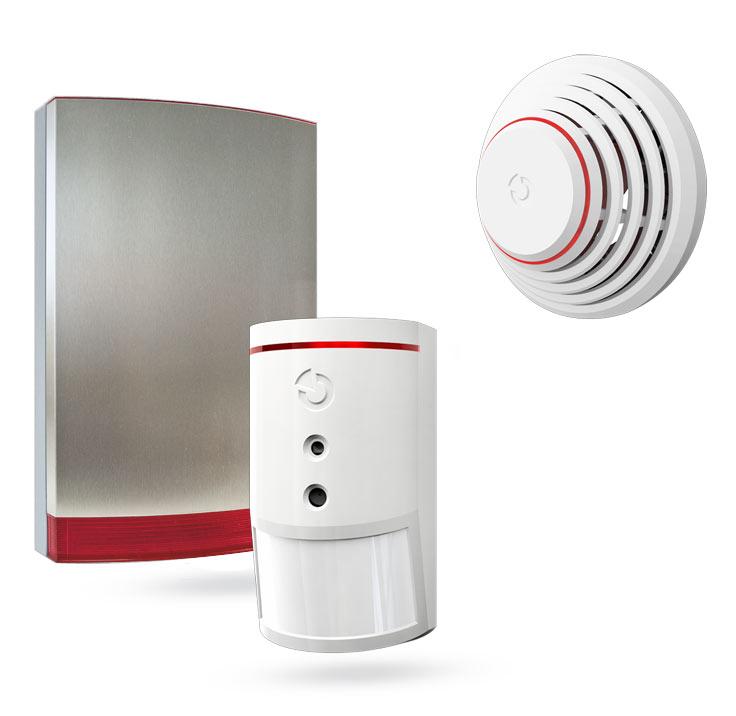 Alarmtechnik modular